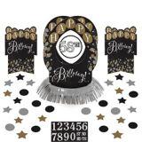 Décorations de table d'anniversaire Célébration étincelante, paq. 51 | Amscannull