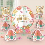 Boho Girl Table Decorating Kit, 8-pc | Amscannull