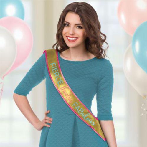 Fierce Flawless Fabulous Sash, 3 x 60-in Product image