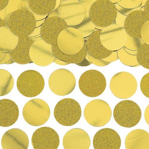 Glitter Gold Circle Confetti Product image