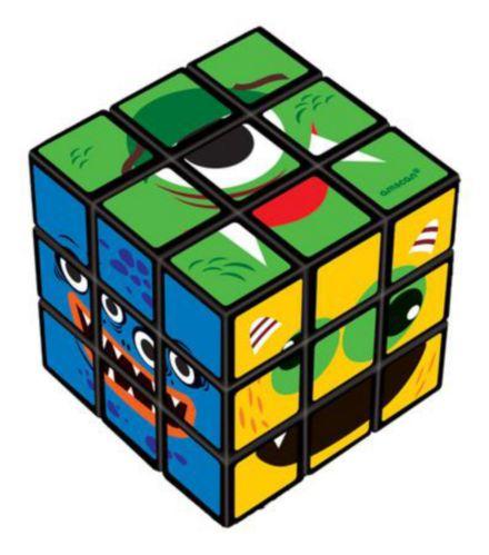 Cubes casse-têtes de monstres, paq. 6