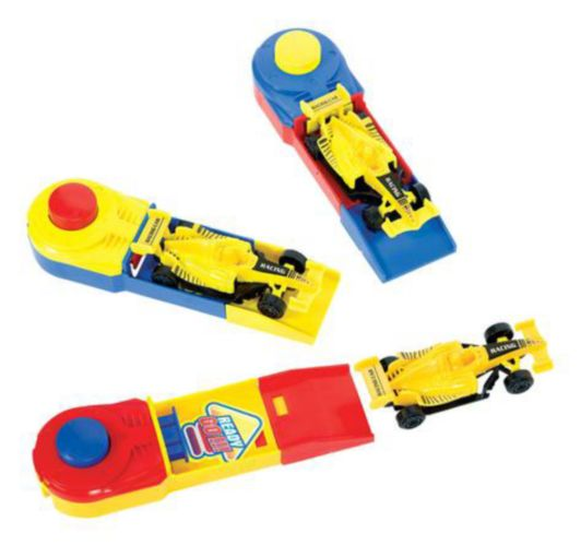 Race Cars with Launchers, 6-pk