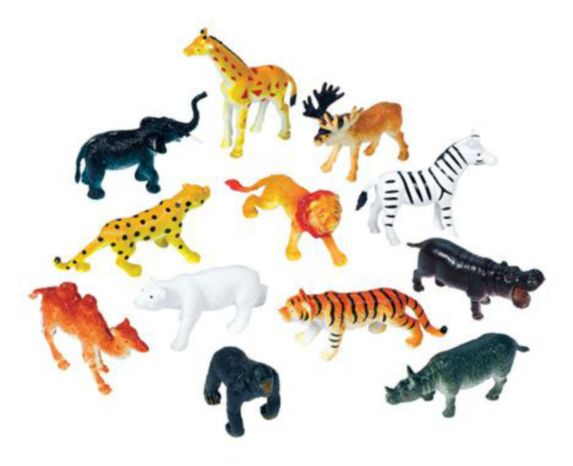 Zoo Animals, 36-pk