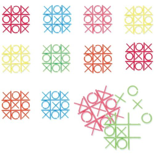 Mini Tic-Tac-Toe Games, 18-pc