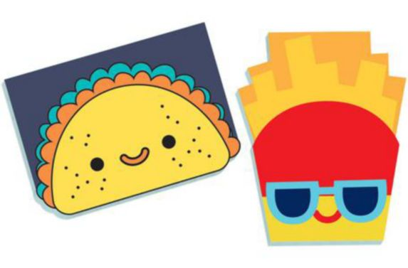 Snack Attack Notepads, 8-pk