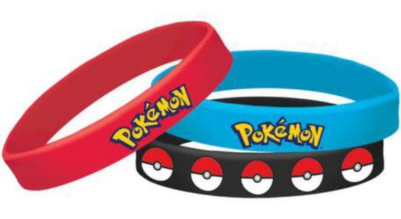 Bracelets Pokémon, paq. 4
