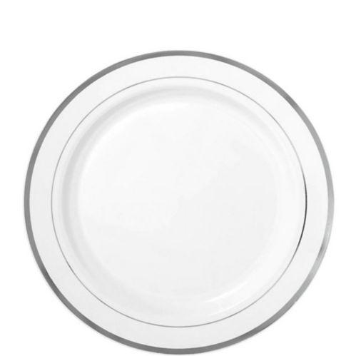 Assiettes à bordure de première qualité, paq. 20 Image de l'article