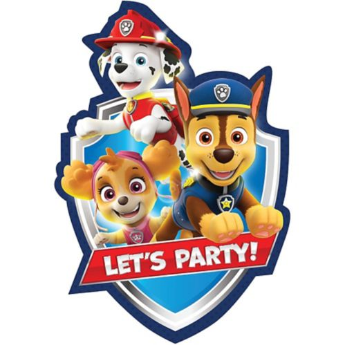 PAW Patrol Adventures Invitations, 8-pk Product image
