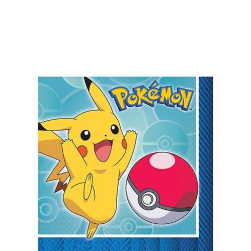 Serviettes pour boissons Pokémon, paq. 16
