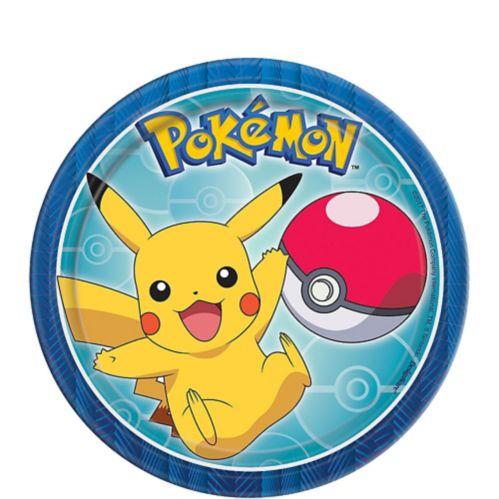 Assiettes à dessert Pokémon, paq. 8