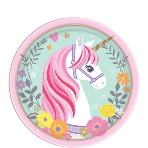 Magical Unicorn Dessert Plates, 8-pk Product image