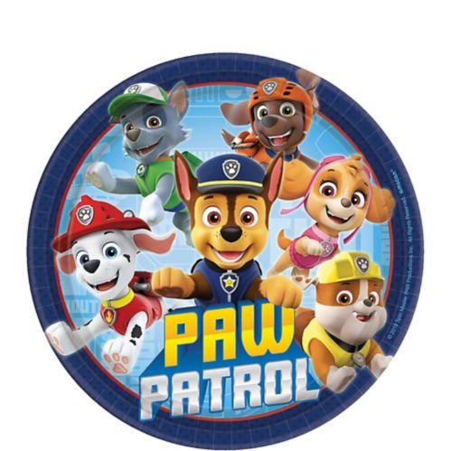 PAW Patrol Adventures Dessert Plates, 8-pk