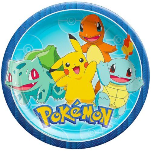 Assiettes à dîner Pokémon classique, paq. 8