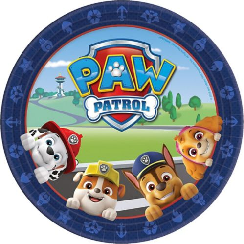 PAW Patrol Adventures Lunch Plates, 8-pk
