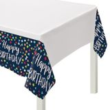 A Reason to Celebrate Plastic Table Cover | Amscannull