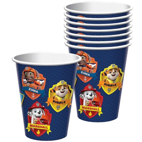 PAW Patrol Adventures Cups, 8-pk