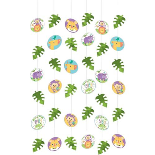Fisher-Price Hello Baby String Decorations, 6-pk