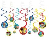 Toy Story 4 Swirl Decorations, 12-pk | Disneynull