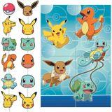 Décor mural Pokémon classique avec accessoires | Pokemonnull