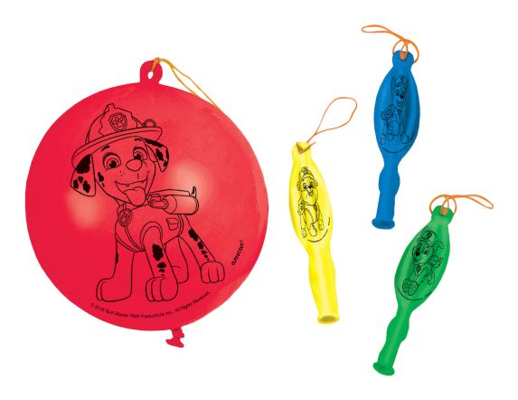Ballons à frapper Pat'Patrouille, paq. 4 Image de l'article