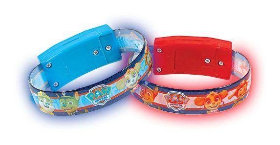 Bracelets lumineux Pat'Patrouille Aventures, paq. 4 Image de l'article