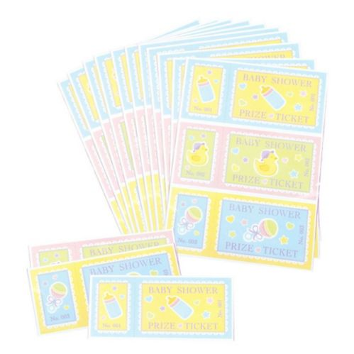 Baby Shower Prize Tickets, 48-pk