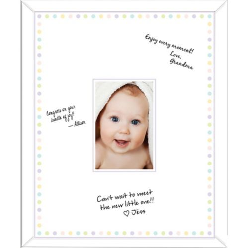 Baby Shower Autograph Photo Frame