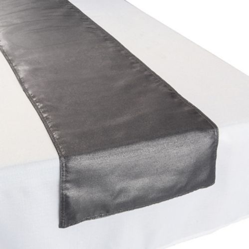 Chemin de table, tissu, métallisé