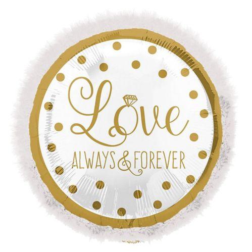 Giant Love Always & Forever Balloon, 32-in