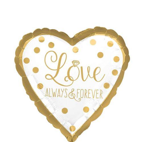 Ballon Love Always & Forever, 17 po Image de l'article