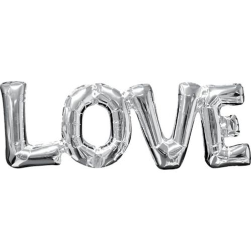 Air-Filled Love Letter Balloon Banner