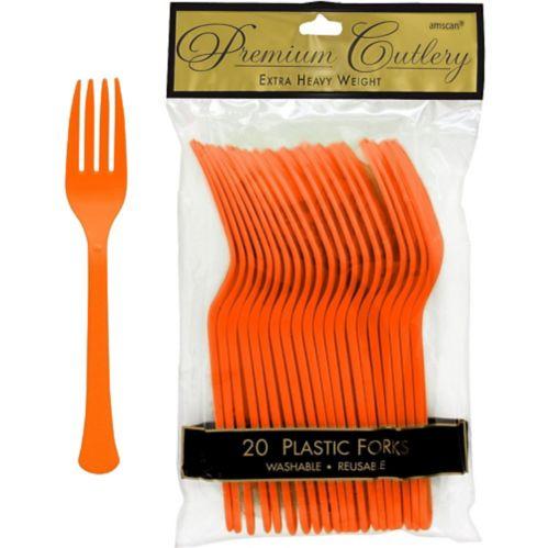 Fourchettes en plastique de qualité supérieure, paq. 20 Image de l'article