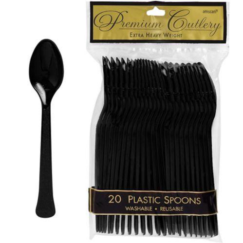 Premium Plastic Spoons, 20-pk Product image