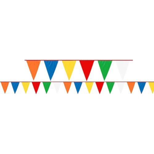 Banderole à fanions multicolore