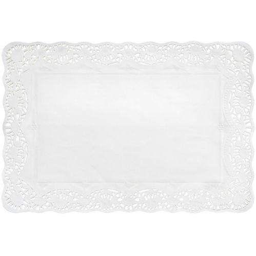 White Paper Placemat Doilies, 9-pk