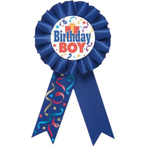 Birthday Boy Award Ribbon Product image