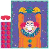 Jeu Épinglez le nez sur le clown