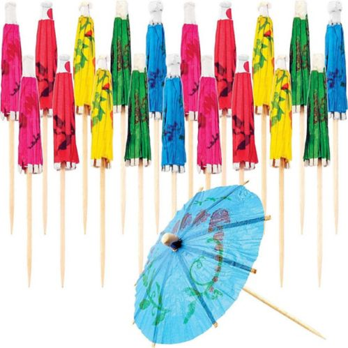 Cocktail Umbrella Picks, 20-pk