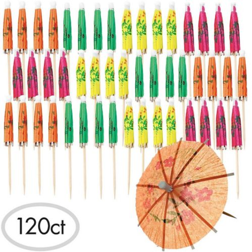 Cure-dents de parasol, paq. 120