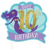 Customizable Wishful Mermaid Cake Topper | Amscannull