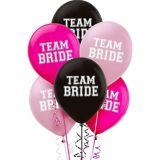 Team Bride Balloons, 15-pk