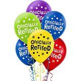 Ballons Célébration Happy Retirement, paq. 15
