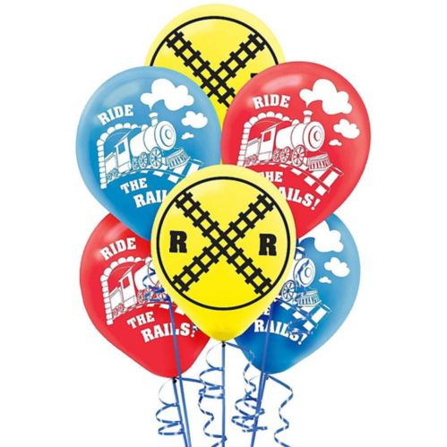 Ballons de train, paq. 6