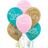 Confetti Fun Latex Balloons, 15-pk | Amscannull
