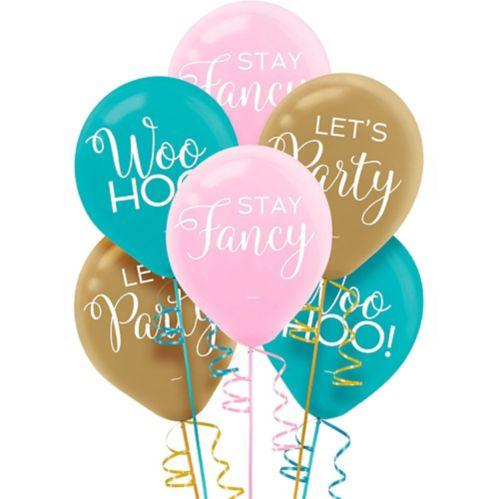 Confetti Fun Latex Balloons, 15-pk Product image