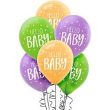Ballons Hello Baby Fisher-Price, paq. 15 | Amscannull