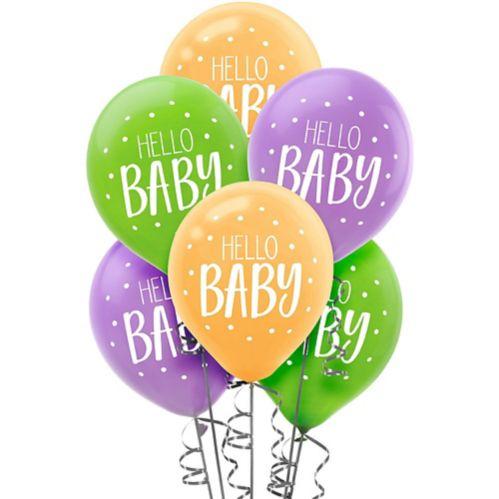 Ballons Hello Baby Fisher-Price, paq. 15