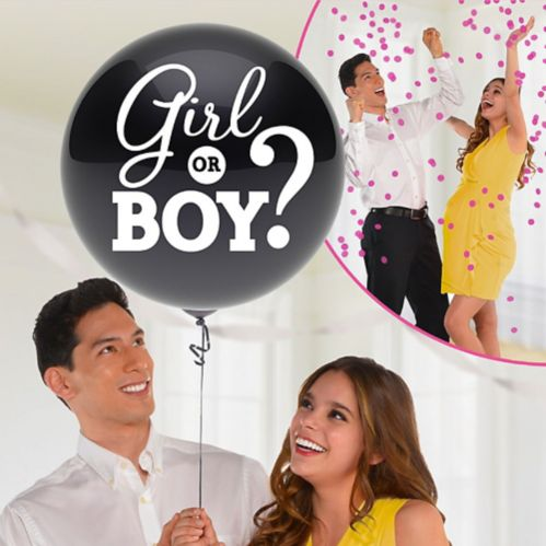 Girl Gender Reveal Balloon with Confetti Product image