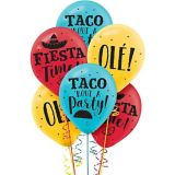Ballons Fiesta Time, paq. 15