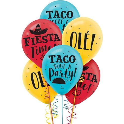 Ballons Fiesta Time, paq. 15 Image de l'article